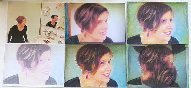 6 Selbstporträts