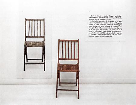 By Joseph Kosuth - Tony Godfrey, Conceptual Art, London: 1998 (Wikipedia)